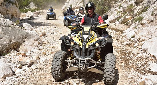 Escursioni Quad Baunei Sardegna